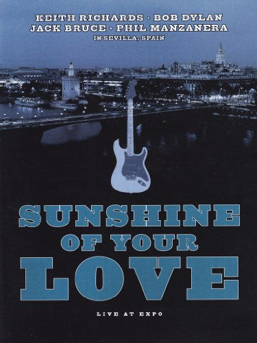 SUNSHINE OF YOUR LOVE-VARIOUS ARTISTS DVD *NEW*