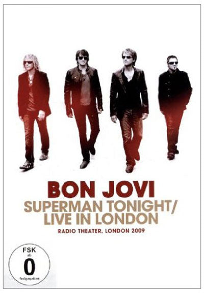 BON JOVI-SUPERMAN TONIGHT LIVE LONDON DVD *NEW*