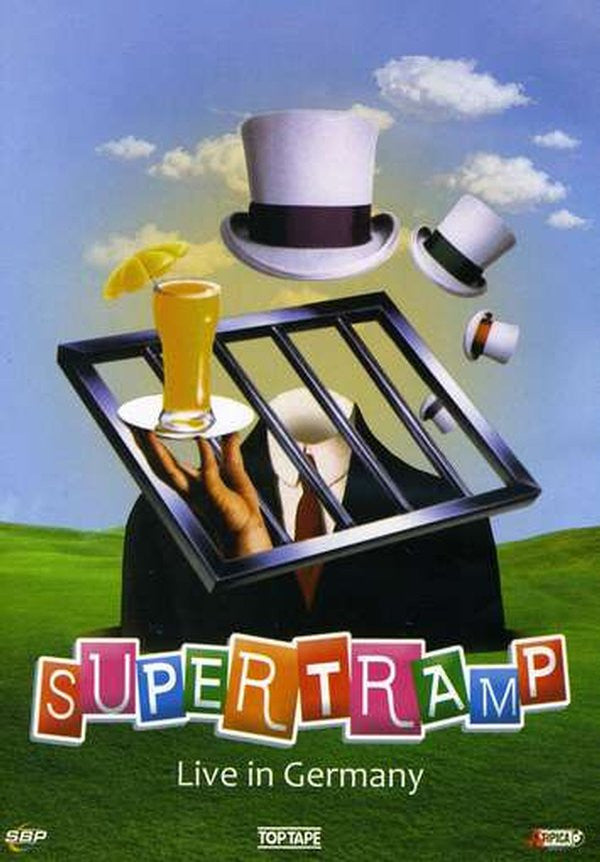 SUPERTRAMP-LIVE AT GERMANY 1983 DVD *NEW*
