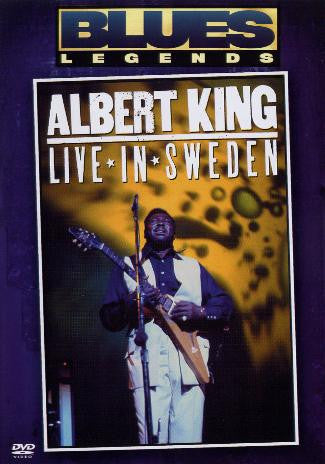KING ALBERT-LIVE IUN SWEDEN DVD *NEW*