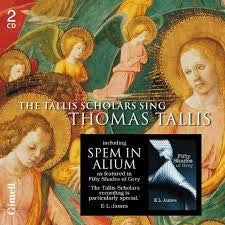 TALLIS SCHOLARS THE-SING THOMAS TALLIS 2CDS *NEW*
