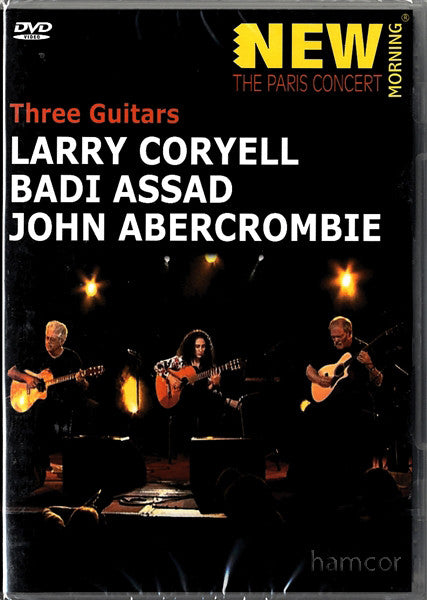 CORYELL LARRY-THREE GUITARS DVD *NEW*