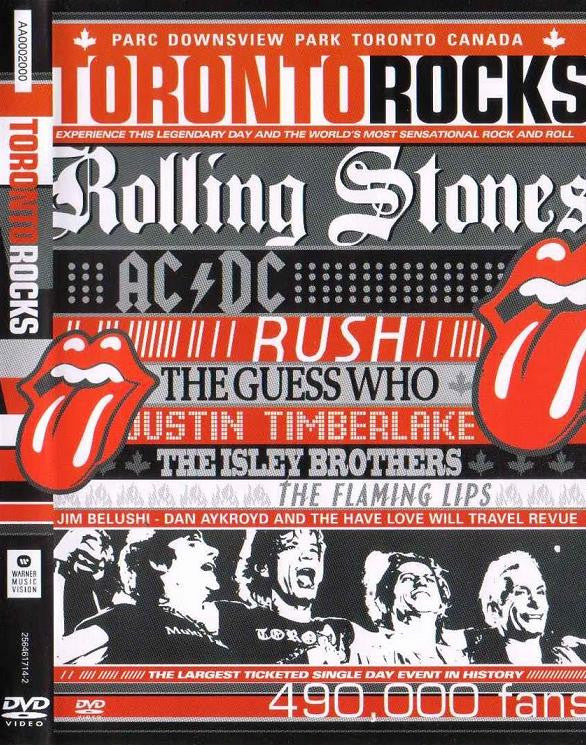 TORONTO ROCKS-VARIOUS ARTISTS DVD *NEW*
