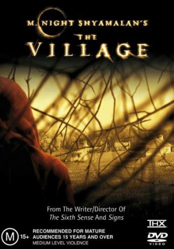 THE VILLAGE DVD VG