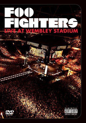 FOO FIGHTERS-LIVE AT WEMBLEY STADIUM DVD *NEW*