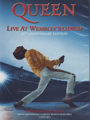 QUEEN-LIVE AT WEMBLEY STADIUM 25 ANNIV 2DVDS *NEW*