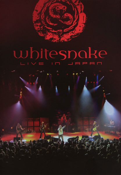 WHITESNAKE-LIVE IN JAPAN DVD *NEW*