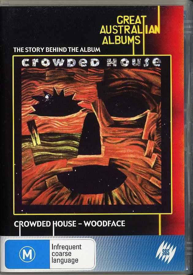CROWDED HOUSE-WOODFACE THE STORY BEHIND DVD *NEW*