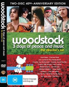 WOODSTOCK-VARIOUS ARTISTS 2DVD *NEW*