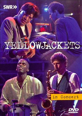 YELLOWJACKETS-IN CONCERT DVD *NEW*