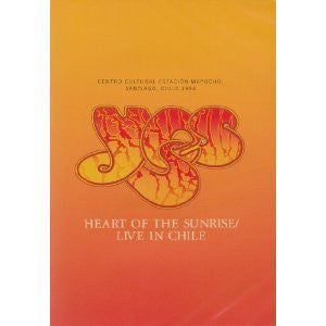 YES-HEART OF THE SUNRISE LIVE CHILE DVD *NEW*
