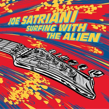 SATRIANI JOE-SURFING WITH THE ALIEN RED/ YELLOW VINYL 2LP *NEW*