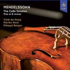 MENDELSSOHN-CELLO SONATAS TRIO IN D MINOR CD *NEW*