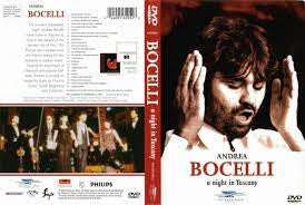 BOCELLI ANDREA-A NIGHT IN TUSCANY DVD NM
