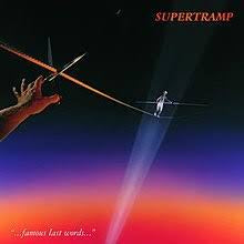 SUPERTRAMP-...FAMOUS LAST WORDS LP VG+ COVER VG+