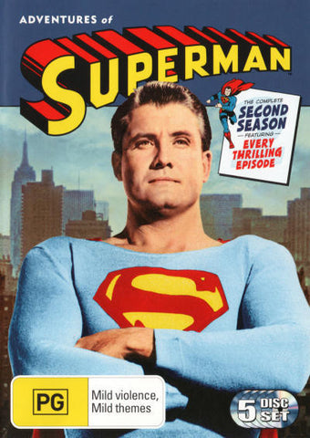 ADVENTURES OF SUPERMAN-SEASON TWO 5DVD G