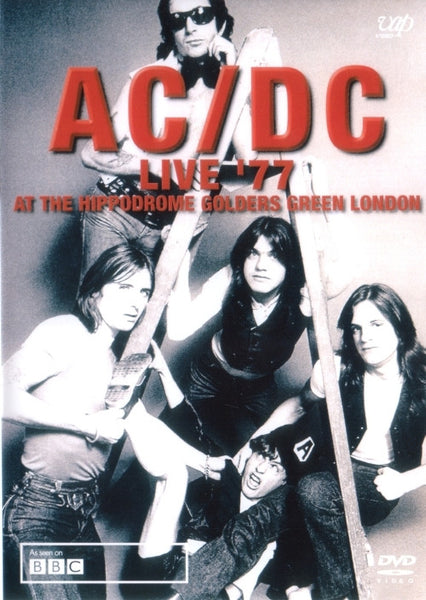 AC/DC-LIVE 77 AT THE HIPPODROME DVD *NEW*