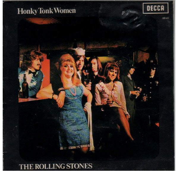 "ROLLING STONES THE-HONKY TONK WOMEN 7"" VG COVER VG"