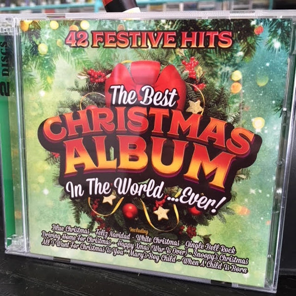 THE BEST CHRISTMAS ALBUM IN THE WORLD...EVER-VARIOUS ARTISTS 2CD *NEW*