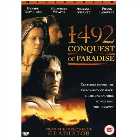 1492 CONQUEST OF PARADISE DVD REGION 2 G