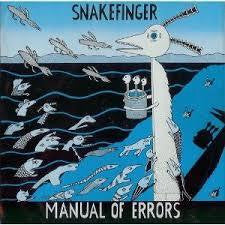 SNAKEFINGER-MANUAL OF ERRORS CD G