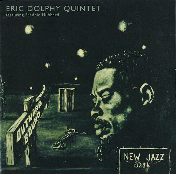 DOLPHY ERIC QUINTET-OUTWARD BOUND CD VG