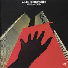 HOLDSWORTH ALLAN-VELVET DARKNESS LP VG COVER VG
