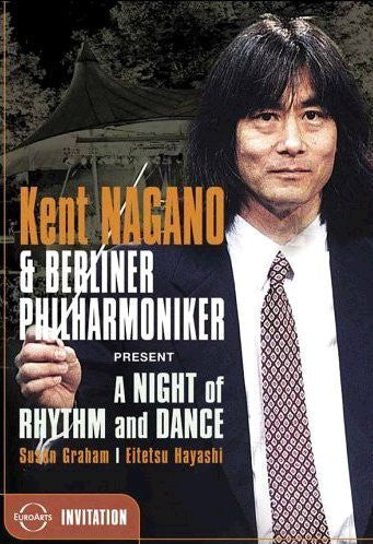 NAGANO KENT-A NIGHT OF RHYTHM AND DANCE DVD *NEW*