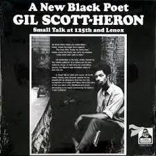 SCOTT-HERON GIL-SMALL TALK AT 125TH & LENOX CD *NEW*