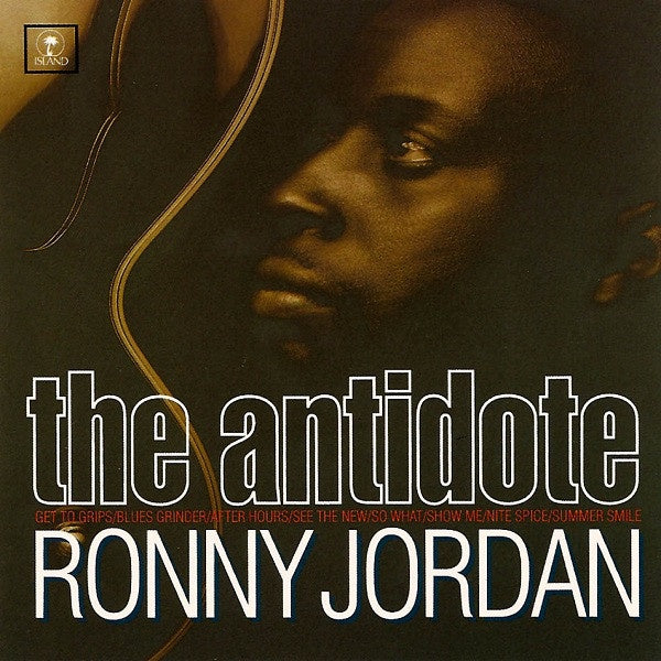 JORDAN RONNY-THE ANTIDOTE GOLD VINYL LP *NEW*