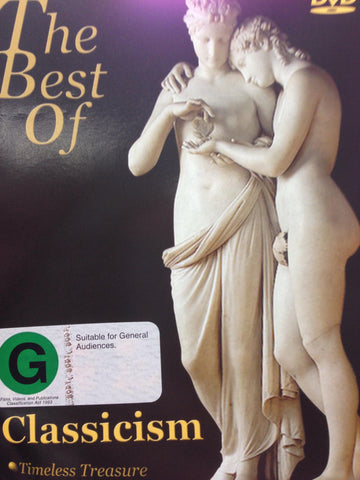 THE BEST OF CLASSICISM TIMELESS TREASURE DVD VG