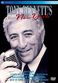 BENNETT TONY-NEW YORK DVD VG