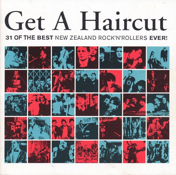 GET A HAIRCUT-VARIOUS ARTISTS CD VG
