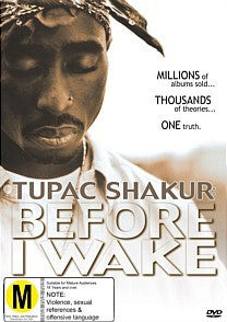 2PAC-BEFORE I WAKE DVD VG