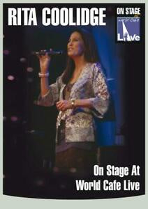 COOLIDGE RITA-ON STAGE AT WORLD CAFE LIVE DVD *NEW*