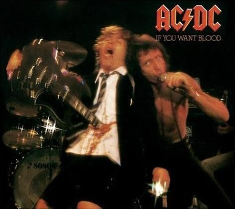 AC/DC-IF YOU WANT BLOOD LP *NEW*