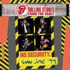 ROLLING STONES-NO SECURITY SAN JOSE 99 BLURAY *NEW*