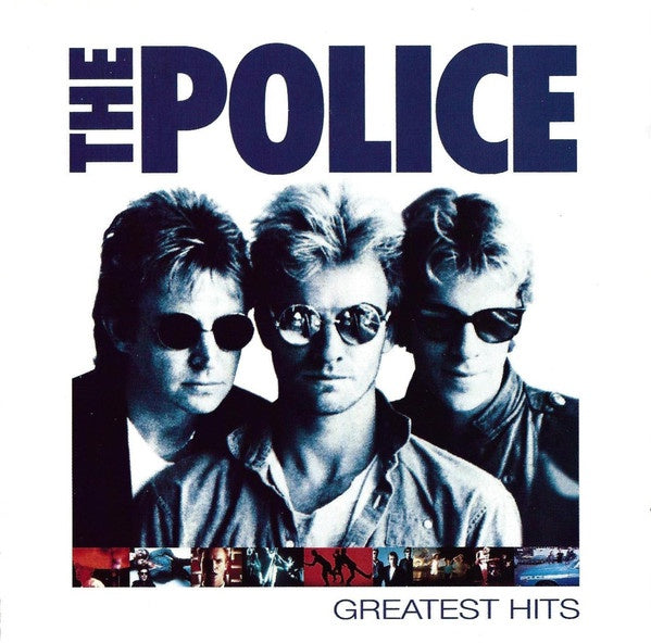 POLICE THE-GREATEST HITS CD VG