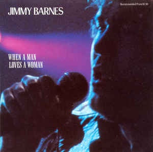"BARNES JIMMY-WHEN A MAN LOVES A WOMAN 12"" VG+ POSTER COVER VG+"