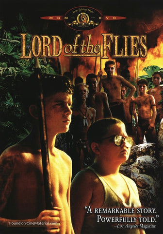 LORD OF THE FLIES DVD VG