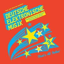 DEUTSCHE ELEKTRONISCHE MUSIK 3-VARIOUS ARTISTS 3LP *NEW*