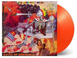 PERRY LEE SCRATCH-BATTLE OF ARMAGIDEON ORANGE VINYL LP *NEW*