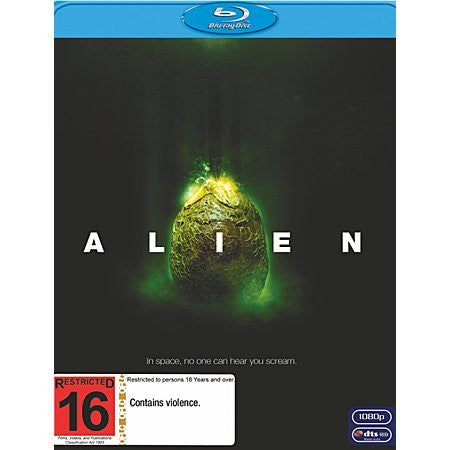 ALIEN BLURAY VG+