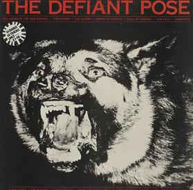 DEFIANT POSE THE-VARIOUS ARTISTS LP VG COVER VG