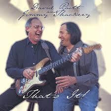 RAITT DAVID AND JIMMY THACKERY- THAT'S IT! CD *NEW*