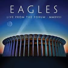 EAGLES-LIVE FROM THE FORUM MMXVIII 2CD+DVD *NEW*