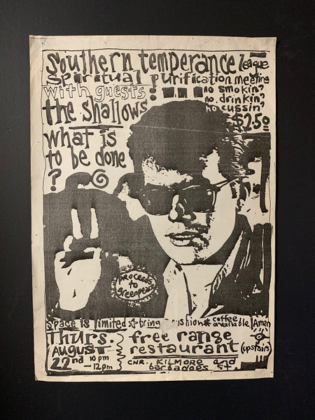 THE SHALLOWS ORIGINAL GIG POSTER
