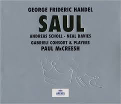HANDEL GEORGE FRIDERIC-SAUL 3CD VG
