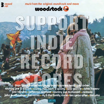 WOODSTOCK MONO PA VERSION-VARIOUS ARTISTS 3LP *NEW*