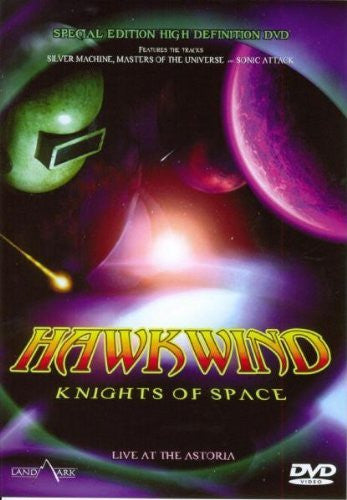 HAWKWIND-KNIGHTS OF SPACE DVD VG